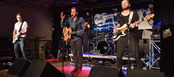 Sebastian Baumert und Band haben den Plattsounds Bandcontest 2016 gewonnen