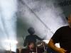 Die Band Musikapparillo (Git. Saenger Jan; Schlagzeug Bernd; Bass Henk) performt ihren Song