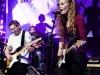 Die Band Skyline B (Lena Feyen, Gesang; Jens Linnemann, Gitarre, Jacqueline Schulte, Gitarre; Julia Klinkhamer, Bass; Hannes Willms, Drums) performt ihren Song